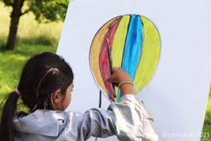 Léto v balóně